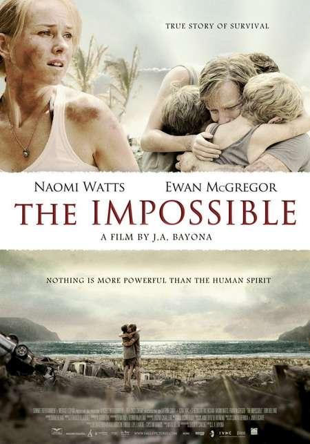 phim the impossible Những bộ phim bom tấn về thảm họa thiên nhiên