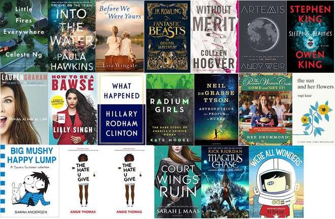 binh chon goodreads Công bố những tác phẩm được vinh danh tại Goodreads Choice Awards 2017