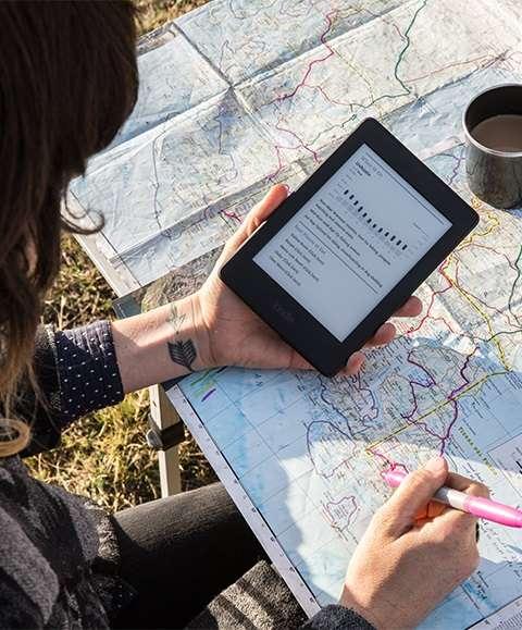 chat luong may doc sach kindle Amazon Kindle Paperwhite 2017: Máy đọc sách tốt nhất trong tầm giá