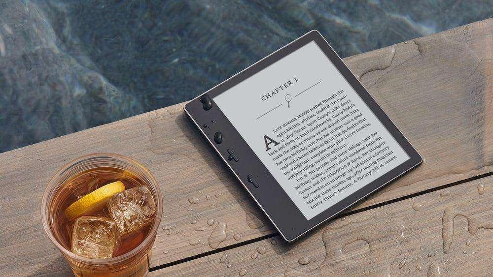 hieu nang may doc sach kindle oasis 2017 Đánh giá máy đọc sách Kindle Oasis 2017