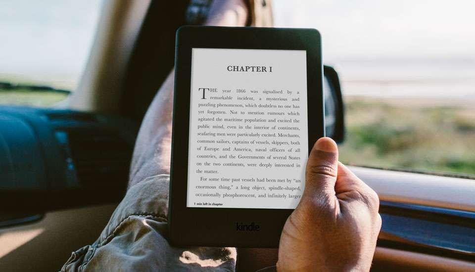 hieu nang may doc sach kindle paperwhite 2017 Đánh giá máy đọc sách Kindle Paperwhite 2017