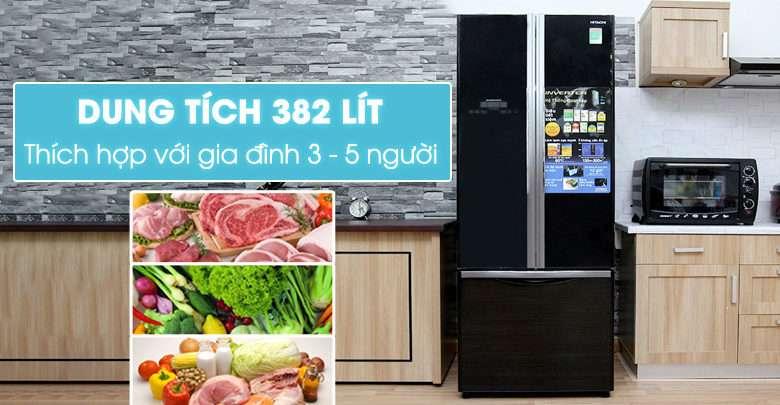7 tủ lạnh Hitachi 3 cửa tốt nhất hiện nay