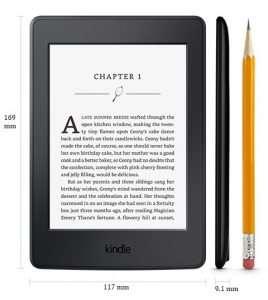 thong so may doc sach kindle paperwhite 2017 268x300 Đánh giá máy đọc sách Kindle Paperwhite 2017