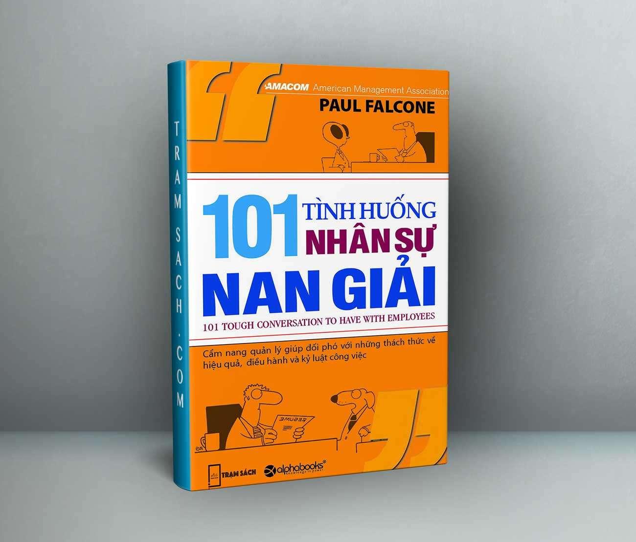sach 101 tinh huong nhan su nan giai 9 cuốn sách hay về quản trị nhân sự