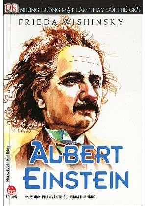 sach nhung guong mat lam thay doi the gioi einstein 9 quyển sách hay về Albert Einstein thiên tài vật lý của nhân loại