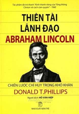 sach thien tai lanh dao lincol 5 cuốn sách hay về Abraham Lincoln