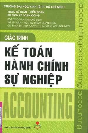 sach giao trinh ke toan hanh chinh su nghiep 8 quyển sách hay về kế toán dễ hiểu dễ áp dụng
