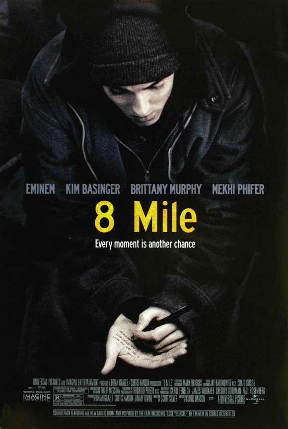 phim 8 mile 12 phim hay về âm nhạc làm thay đổi góc nhìn cuộc sống