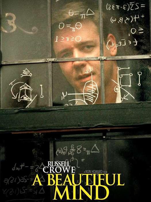 phim A Beautiful Mind 8 phim hay về toán học tạo động lực mạnh mẽ