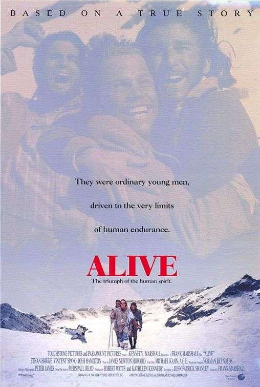 phim Alive 1993 11 phim hay về tai nạn máy bay ám ảnh kinh hoàng