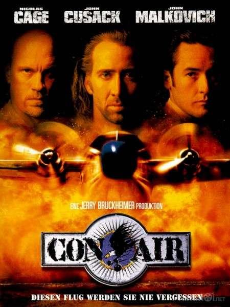 phim Con Air 1997 11 phim hay về tai nạn máy bay ám ảnh kinh hoàng