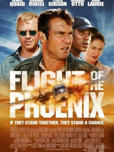 phim Flight of the Phoenix 11 phim hay về tai nạn máy bay ám ảnh kinh hoàng
