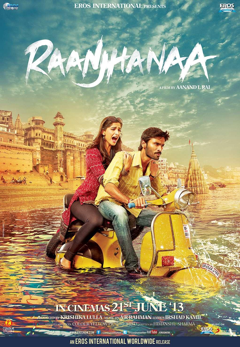 phim Raanjhanaa 11 phim Ấn Độ hay về tình yêu đốn tim người xem