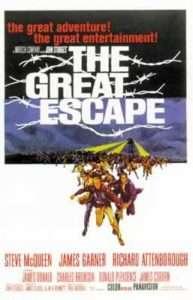 phim The Great Escape 193x300 12 phim hay về lịch sử đáng xem trong đời