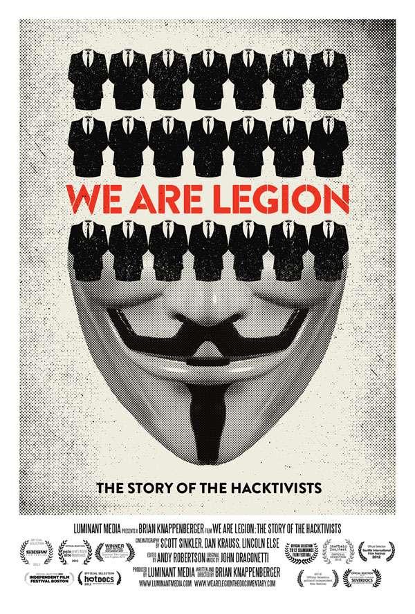 phim We Are Legion The Story Of The Hacktivists 9 phim hay về hacker giúp bạn hiểu hơn về thế giới mạng