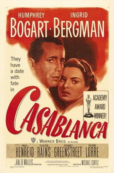 phim casablanca 25 phim hay về tình yêu làm say lòng người xem
