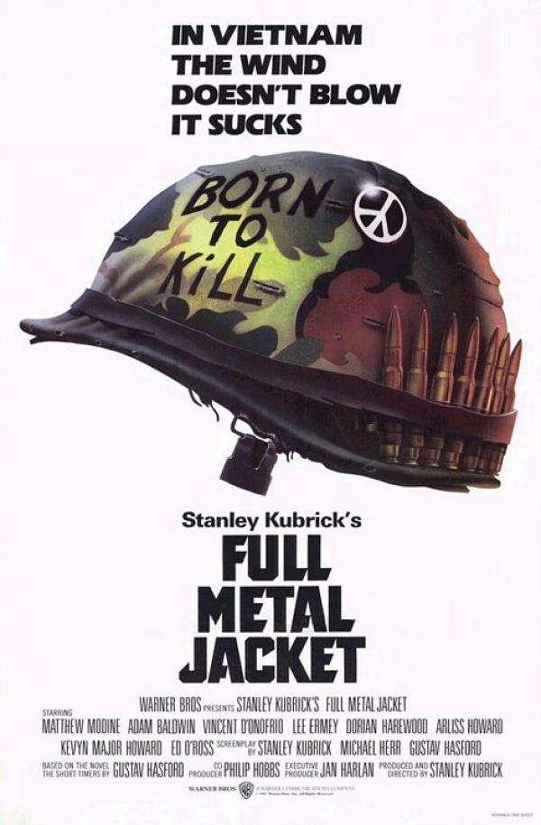 phim full metal jacket 10 phim hay về chiến tranh việt nam tàn khốc đầy đau thương