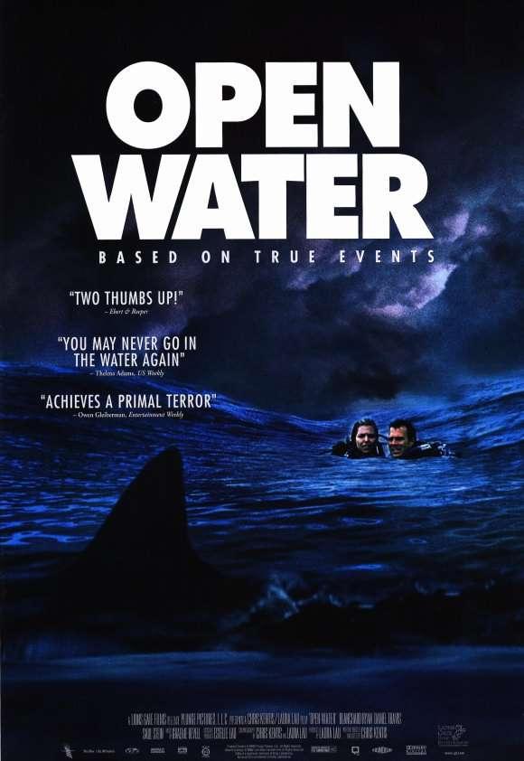 phim open water 10 phim hay về cá mập khuyên xem