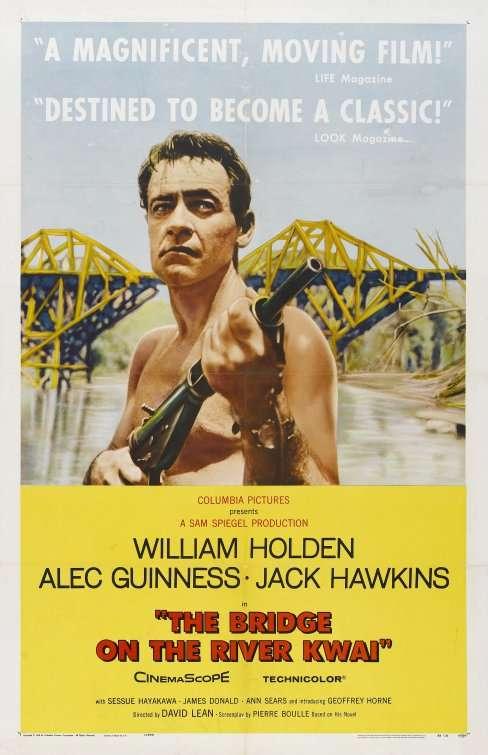 phim the bridge on the river kwai 12 phim hay về chiến tranh thế giới thứ 2 tàn khốc