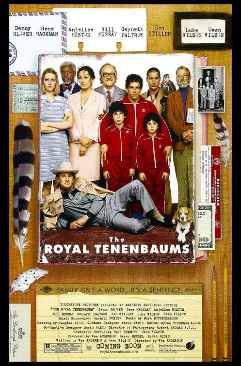 phim the royal tenenbaums 8 phim hay về gia đình Mỹ ngập tràn tình cảm