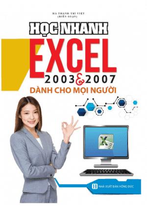 sach hoc nhanh excel 2003 2007 6 cuốn sách hay về Excel giúp bạn tiếp cận và làm chủ Excel