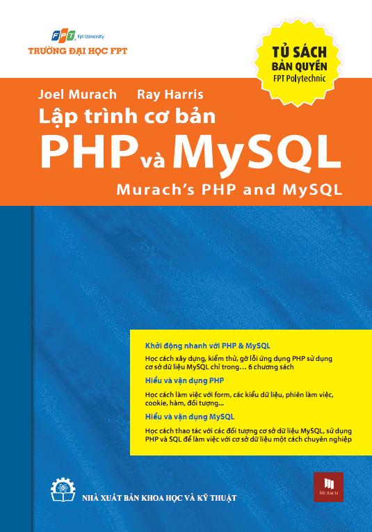 sach lap trinh co ban php va mysql 8 cuốn sách hay về lập trình rút chiết qua bao kinh nghiệm xương máu