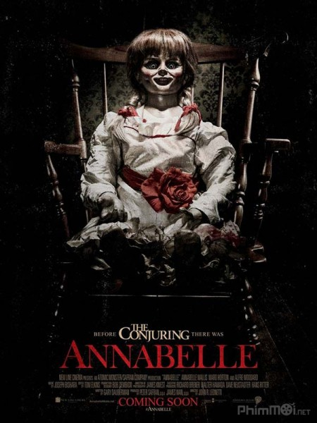 phim Annabelle 2014 12 phim hay về quỷ dữ ám ảnh người xem