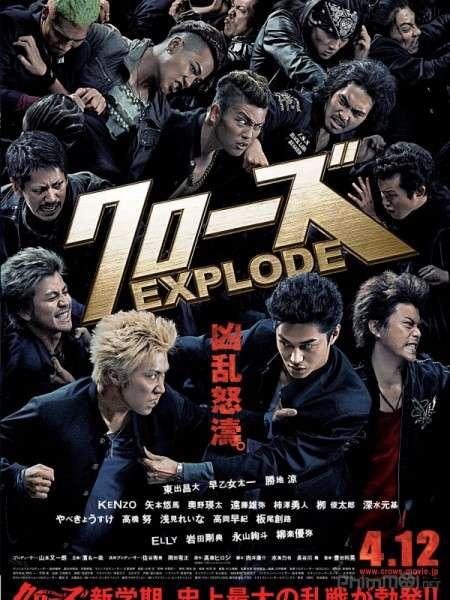 phim Crows Explode Crows Zero 3 2014 8 phim hay về Yakuza bạo lực và tàn khốc