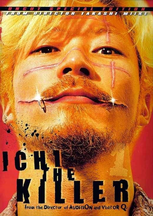 phim Ichi The Killer 2001 8 phim hay về Yakuza bạo lực và tàn khốc