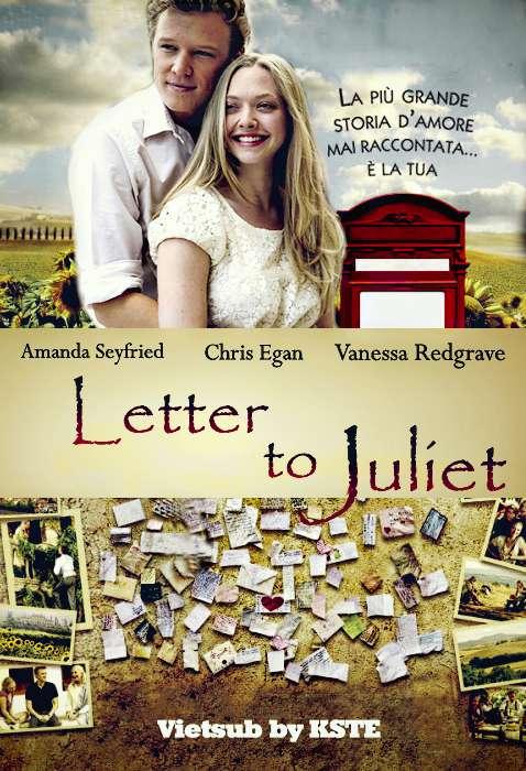 phim Letters To Juliet2011 10 phim hay về nước Ý lãng mạn đến bất ngờ