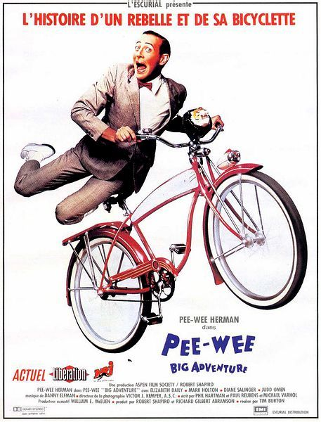 phim Pee wees Big Adventure 6 phim hay về xe đạp truyền cảm hứng cuộc sống