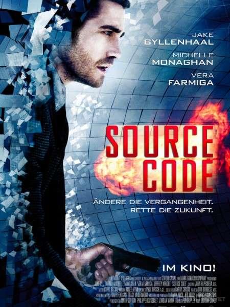 phim Source Code 2011 10 phim hay về vòng lặp thời gian hack não người xem