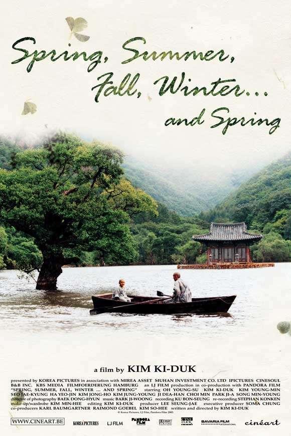 phim Spring Summer Fall Winter... and Spring 8 phim hay về phật giáo khai mở đạo tâm