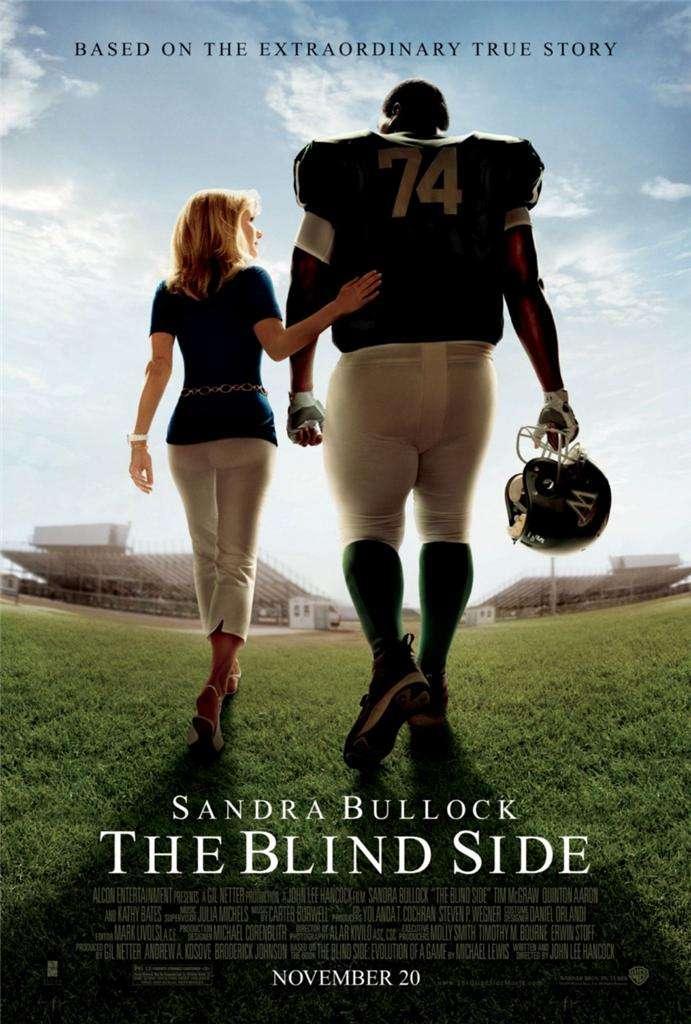 phim The Blind Side 15 phim hay về người nổi tiếng truyền cảm hứng mạnh mẽ