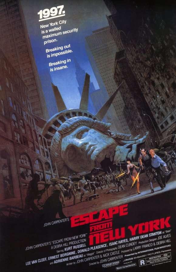 phim escape from new york 10 phim hay về vượt ngục hay nhất mọi thời đại