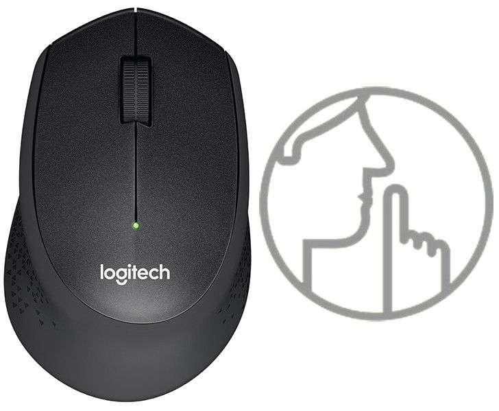 logitech m331 silent chong on Đánh giá chuột không dây Logitech M331 Silent Plus