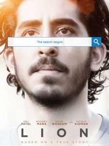 phim Lion 2017 225x300 Những phim hay về google đáng xem