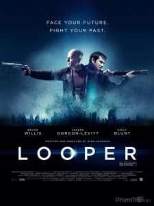 phim Looper 2012 225x300 10 phim hay về hiệu ứng cánh bướm nhấn mạnh sự quan trọng hành động, lời nói và tư tưởng của mỗi người