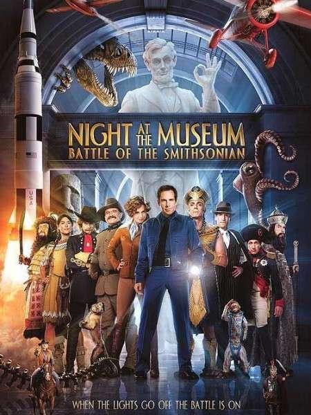 phim Night at the Museum Battle of the Smithsonian 2009 5 phim hay về màn đêm đen tối
