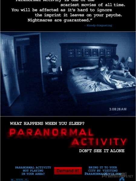 phim Paranormal Activity 1 2007 5 phim hay về màn đêm đen tối