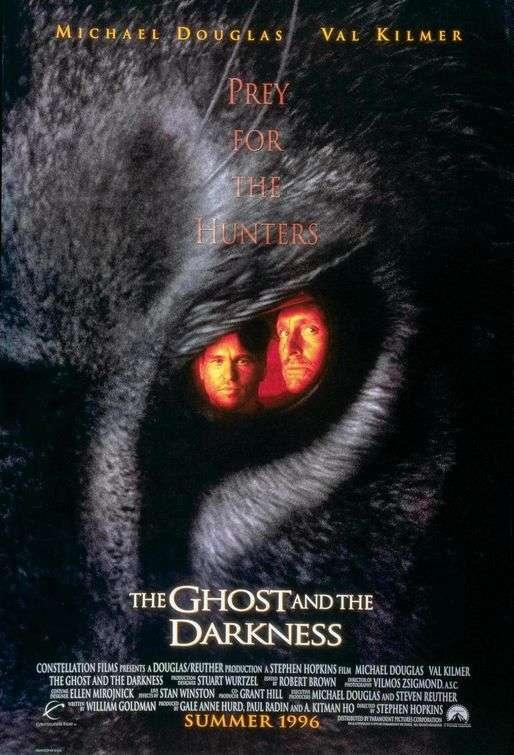 phim The Ghost And The Darkness 1996 7 phim hay về loài sư tử đáng xem