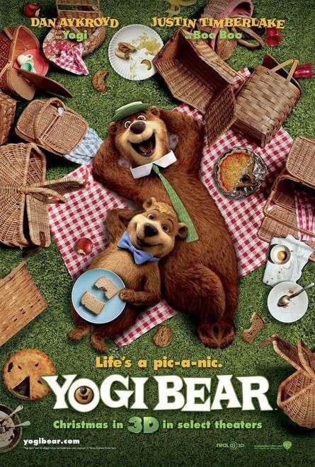 phim Yogi Bear 2010 5 phim hay về loài gấu đáng xem