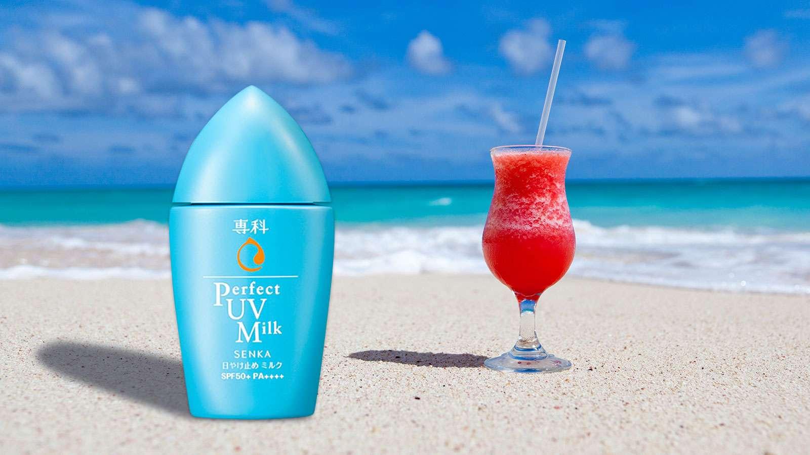 Đánh giá kem chống nắng dạng sữa Senka Perfect UV Milk SPF 50+ PA++++