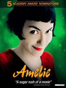 phim Amélie 225x300 6 phim hay về gái ế vừa hài hước vừa cảm động