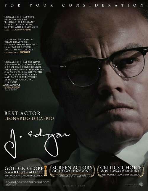 phim J.Edgar  8 phim hay về FBI đầy hấp dẫn và lôi cuốn người xem
