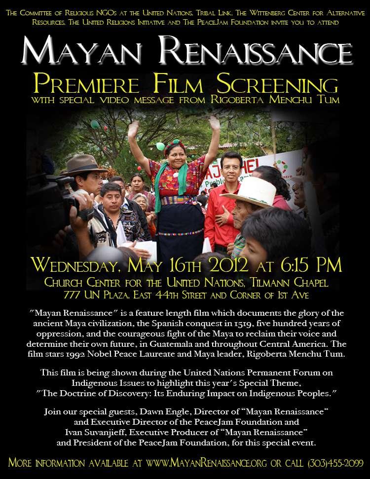 phim Mayan Renaissance 2012 4 phim hay về đế chế Maya cổ đại