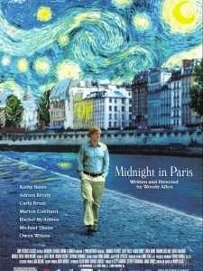phim Midnight in Paris 2011 225x300 15 phim hay dành cho mọt sách tràn đầy cảm xúc của văn thơ, hội họa, điện ảnh, âm nhạc