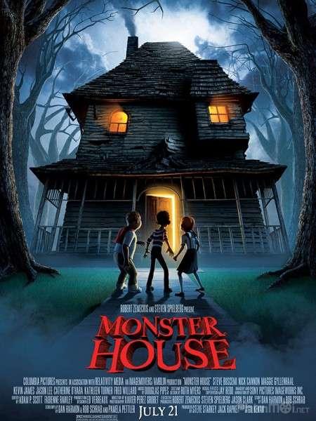 phim Monster House 2006 8 phim hay về Halloween vừa đáng sợ vừa hài hước