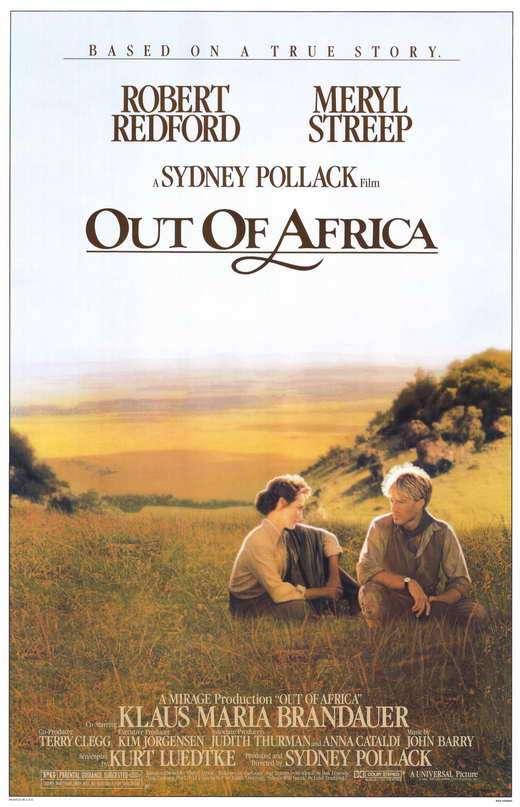 phim Out of Africa 12 phim hay về Châu Phi đáng xem