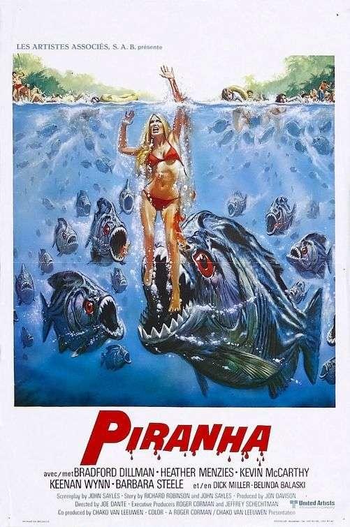 phim Piranha 1978 4 phim hay về cá Piranha hung tợn